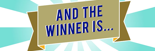 Congratulations to our giveaway winner!